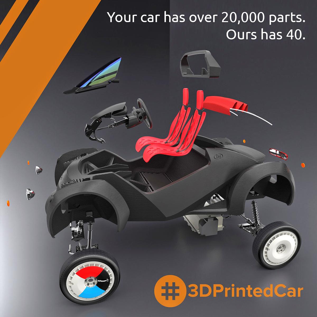 win a local motors 3d printed car 3d printing industry. Black Bedroom Furniture Sets. Home Design Ideas