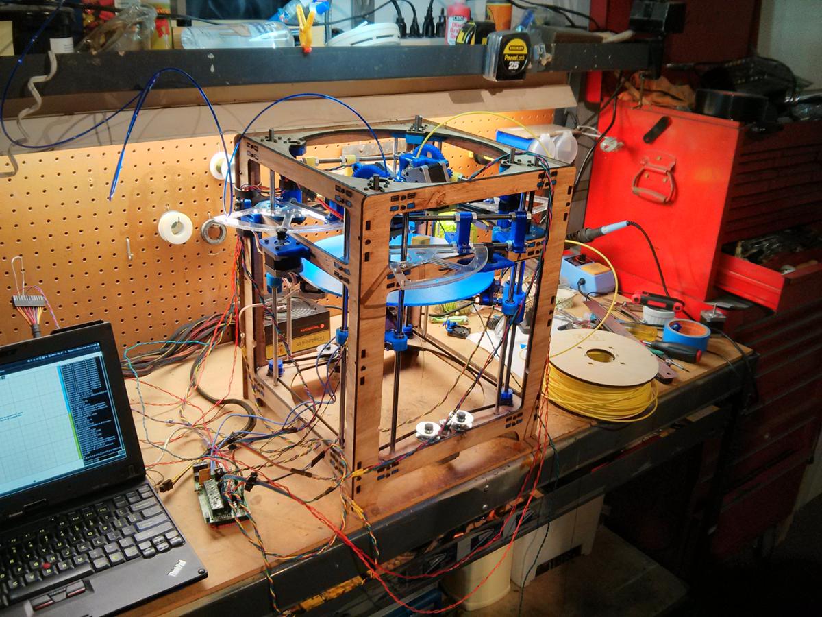 theta_mess 3d printer