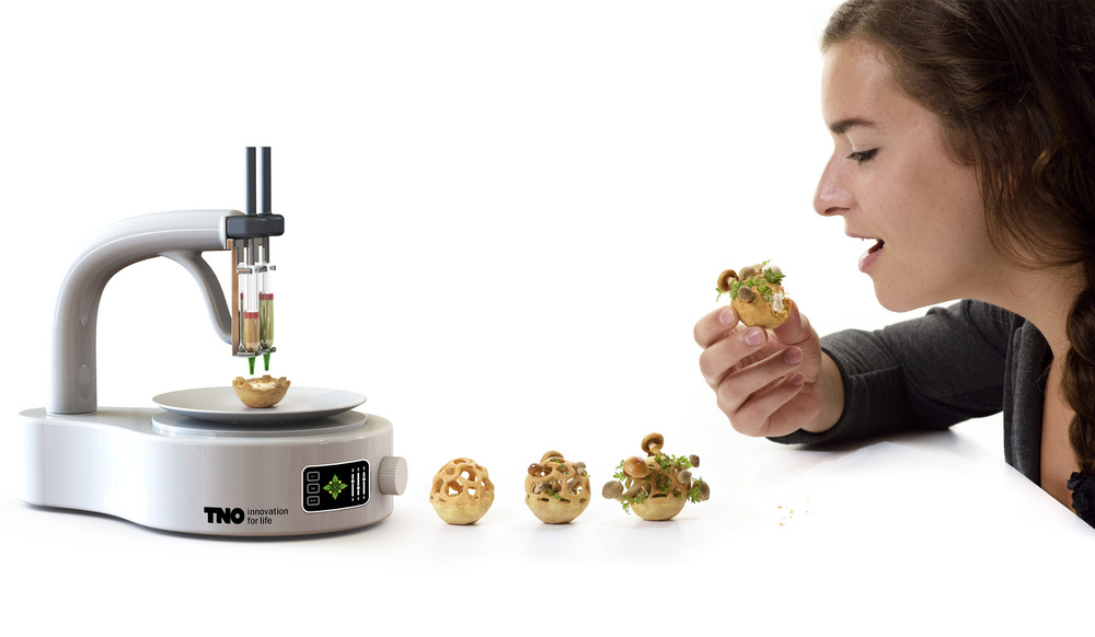 tno 3d printing food spore
