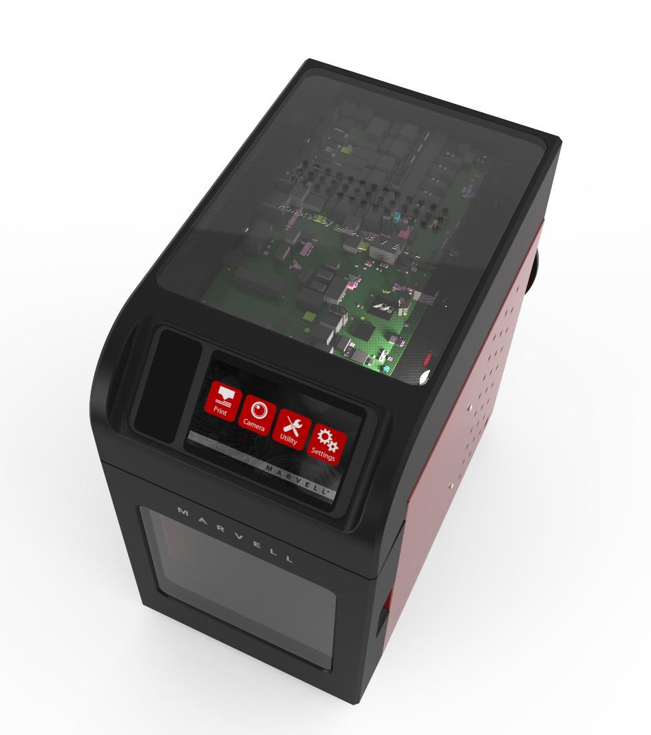 marvell 3d printing platform