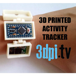 3D Printed Activity Tracker