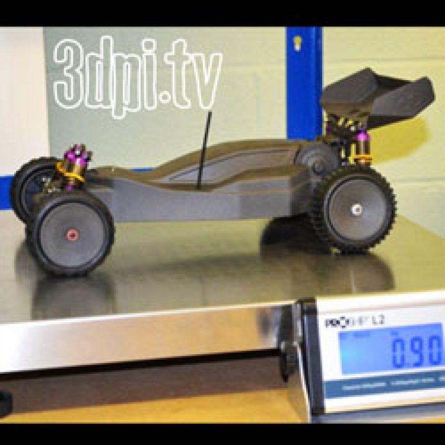 Video: Carbon Fibre 3D Printed Remote Control Car