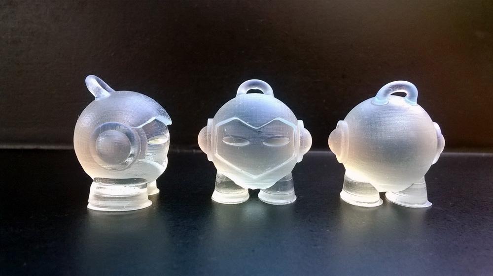 3D printed Marvin_3D_Hubs_Form1+ 3