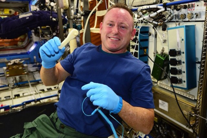 3D printed wrench ISS made in space