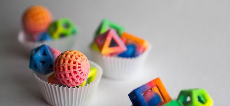 3D sugar printing from chefjet pro