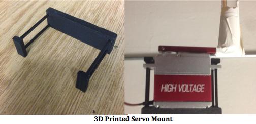 3D Print Servo Mount