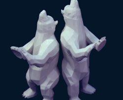 3d printed bear dblg