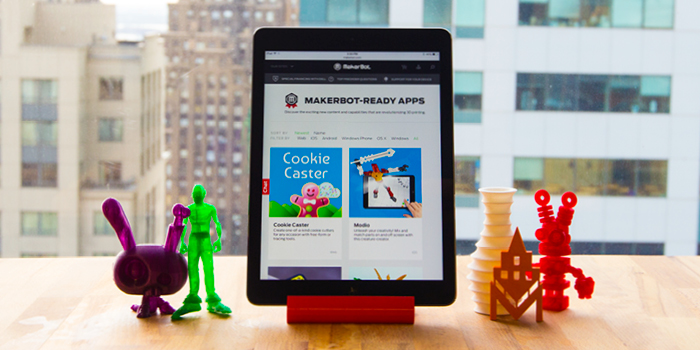 3d printing makerbot ready apps