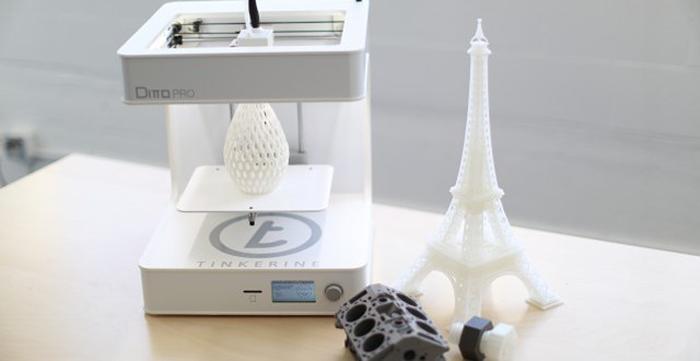 tinkerine 3d printer