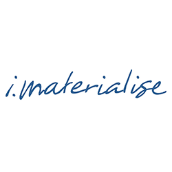 i.materialise logo 3d printing
