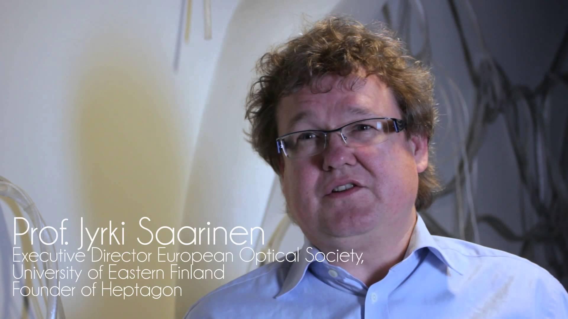 LUXeXcel Professor Jyrki Saarinen