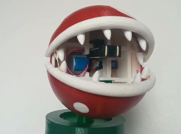 Open Piranha Mario 3D Printing