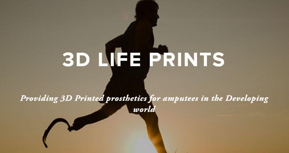 3d life prints prosthetics