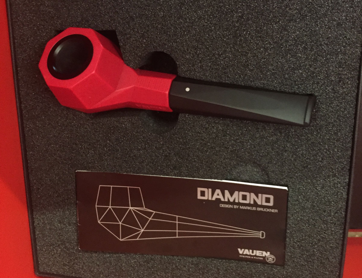 Vauen 3d printed pipe new color euromold