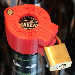 3d printed beerlock_closefeature