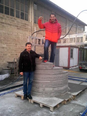 betabram house 3D printing Slovenian Olympian hammer thrower Primož Kozmus