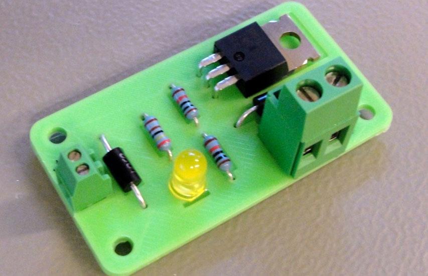 circuit 3d printing close
