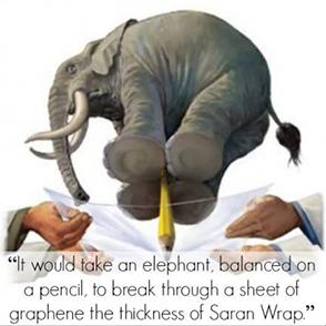 elephant graphene 3d printing