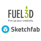 Publish 3D Printable Fuel3D Scans Directly to Sketchfab