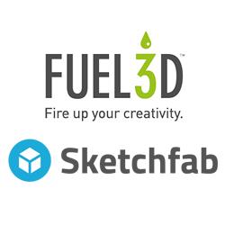 fuel3D sketchfab 3D printing copy