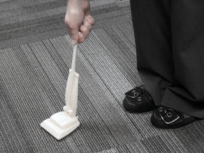 hoover partners w makerbot for 3D printed vacuum accessories