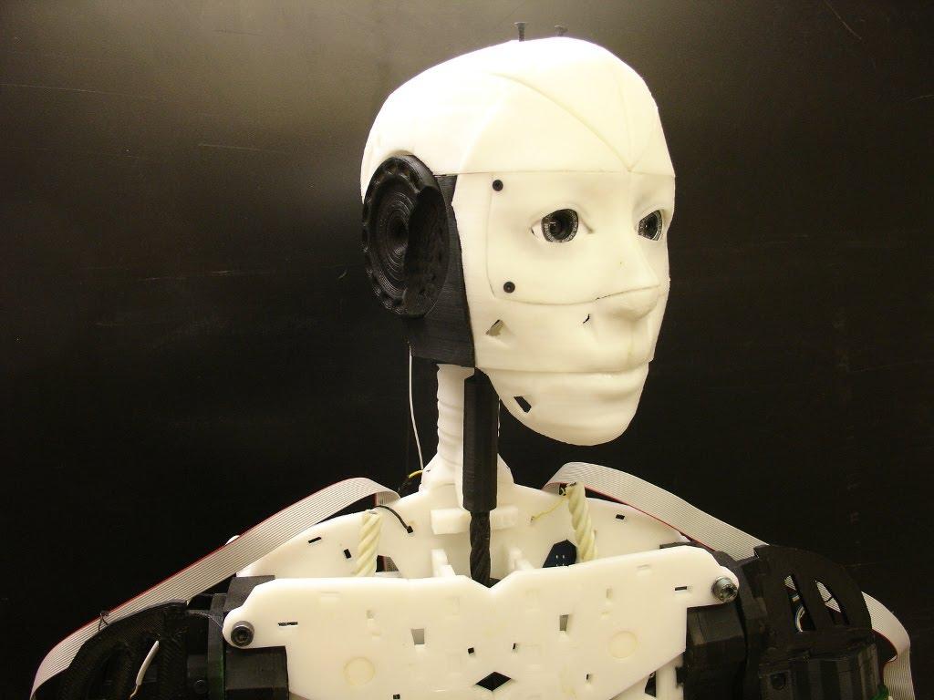 inmoov 3d printing robot