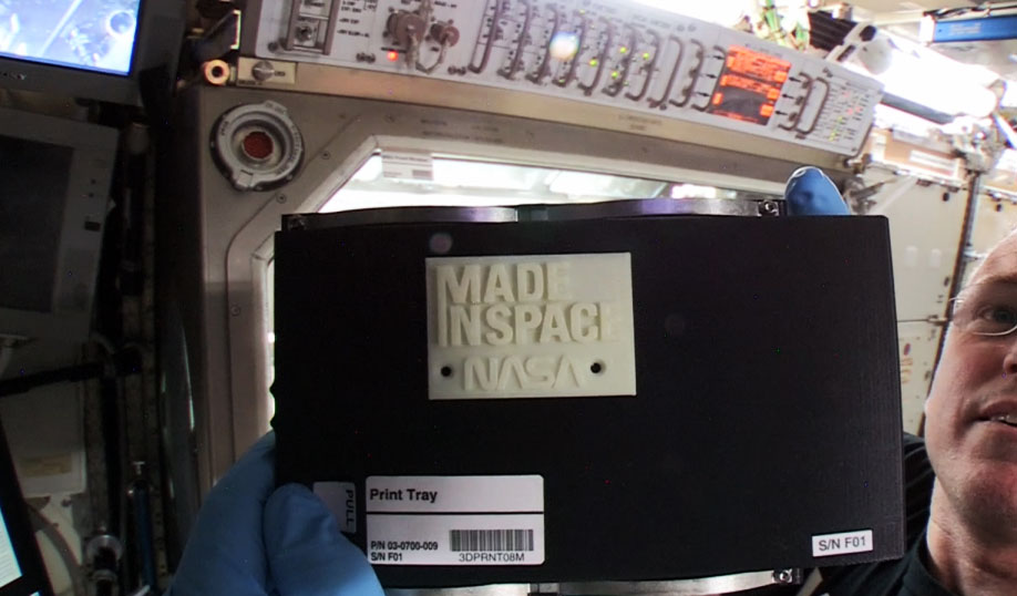 madeinspace 3d printer nasa