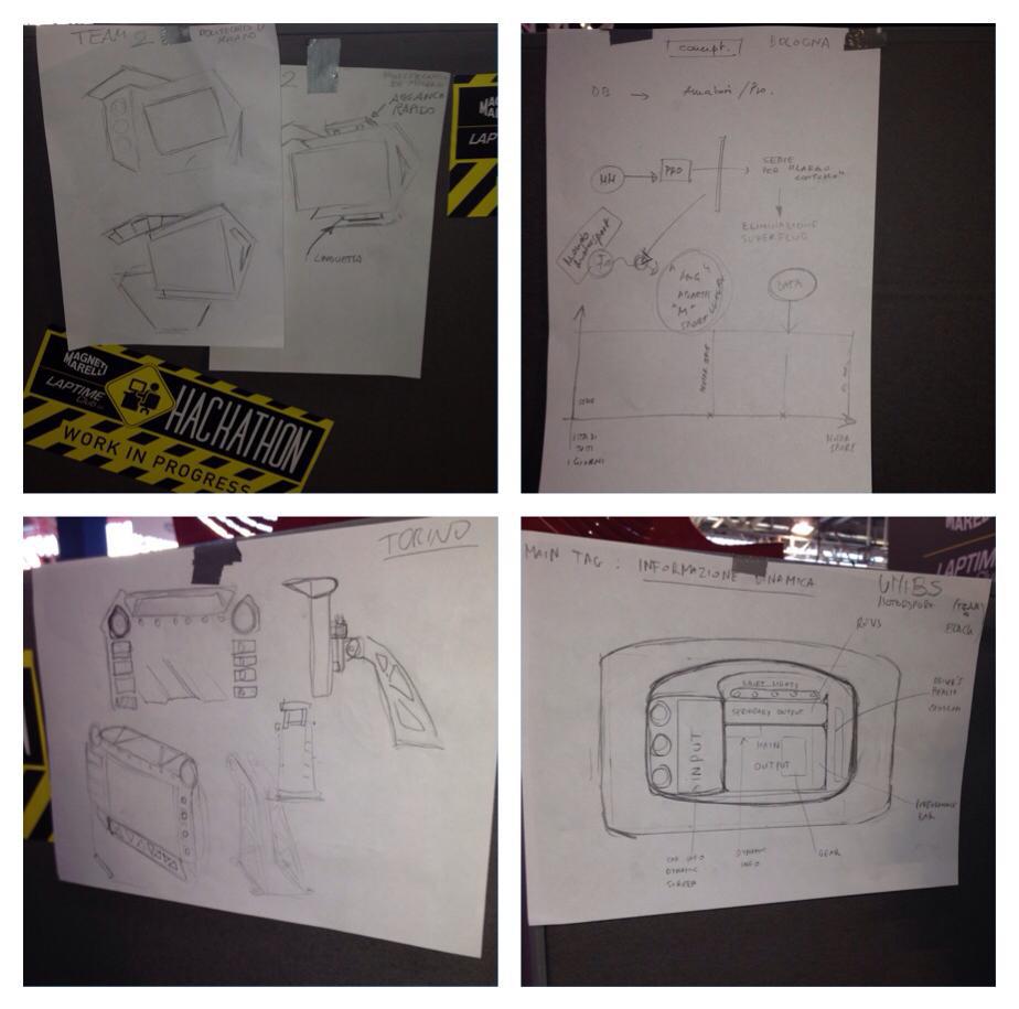 magneti marelli3 sketches 3d priting