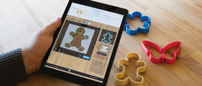 makerbot ready apps portal cookie cutter