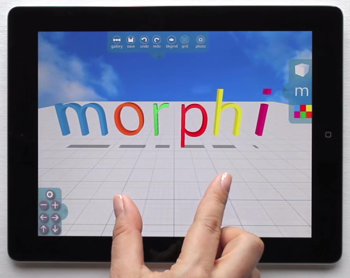 New morphi 3d modeling app 3d printing industry 3d modeling app