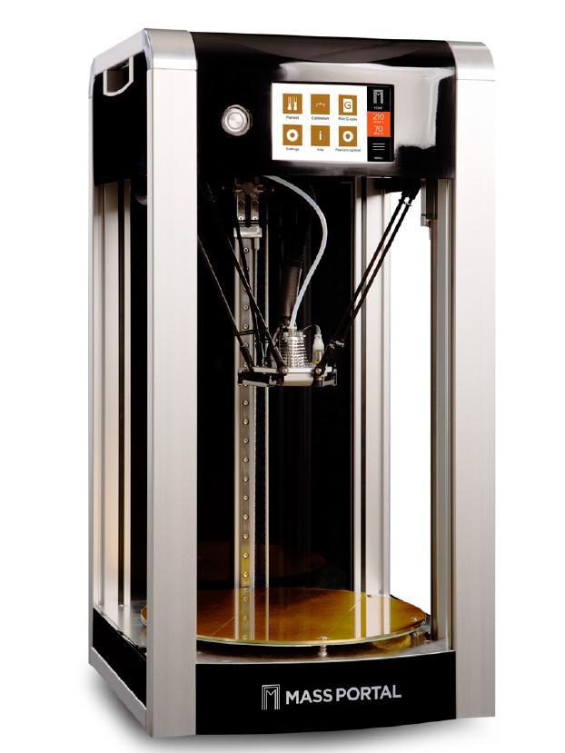 Latvia's Mass Portal Delta 3D Printer
