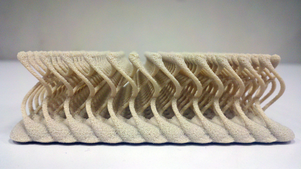 oxford performance materials 3D printed lattice