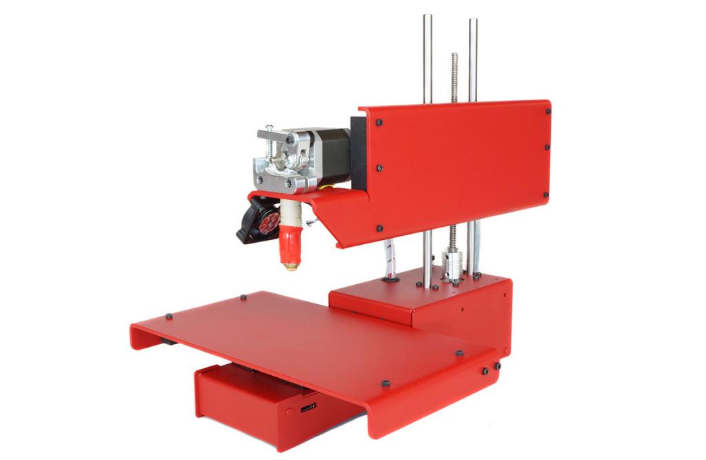 printrbot 3d printer simple metal front