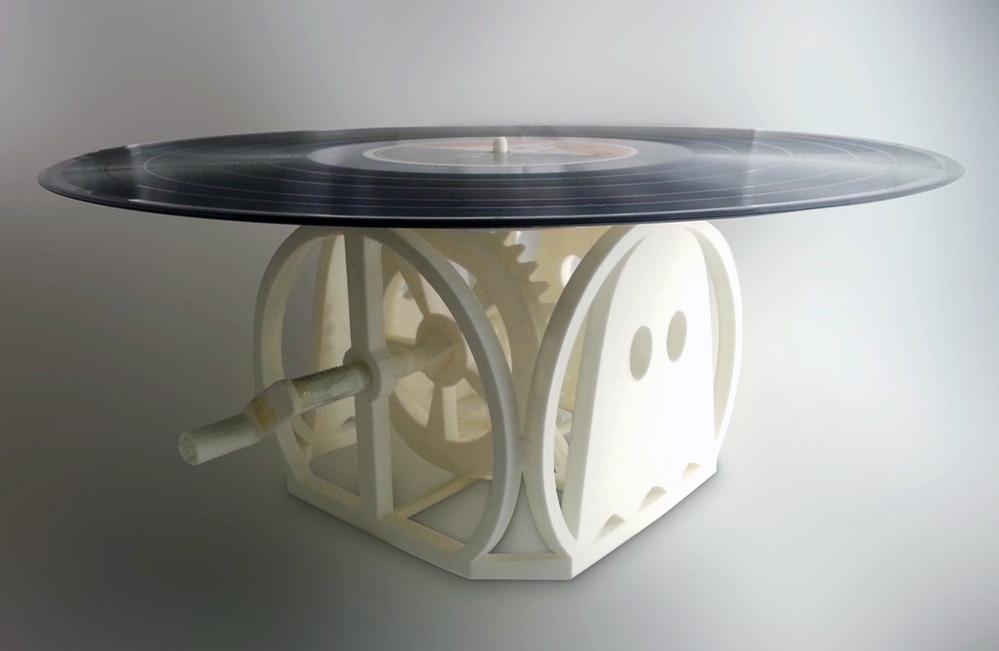 recordplayer_3d printed thingiverse