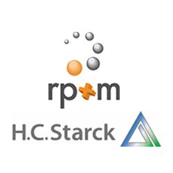 rp+m and h.c.c starck 3D metal printing