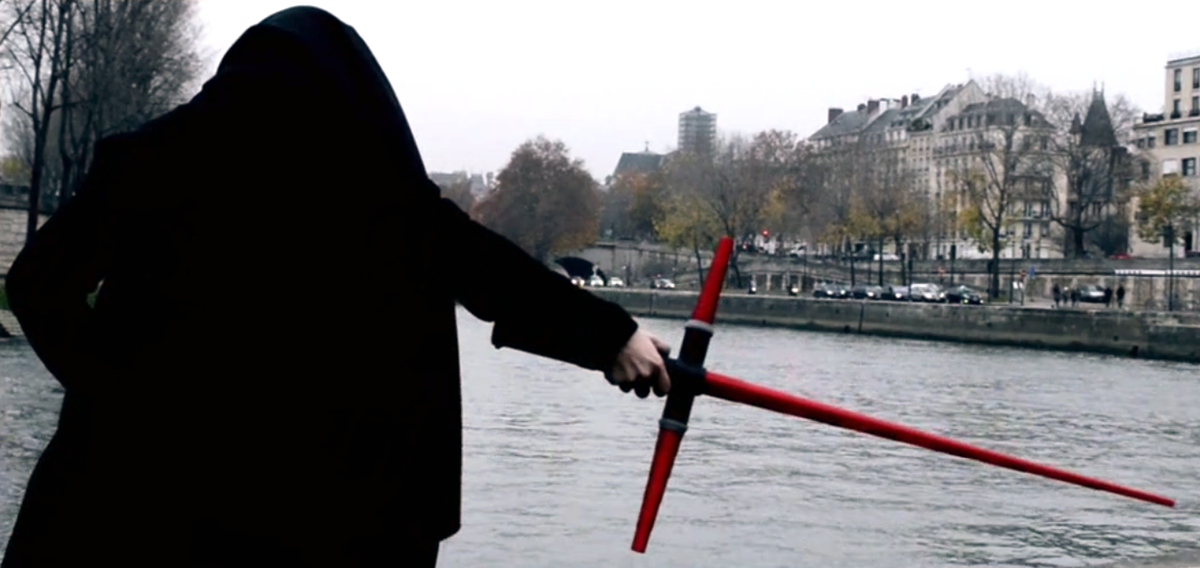 star wars force awakens 3D printed lightsaber