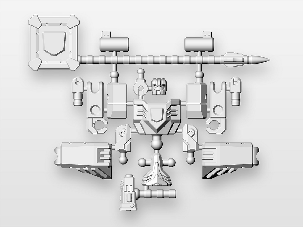 trans shape 3d printing