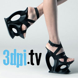 united nude 3d printed shoes