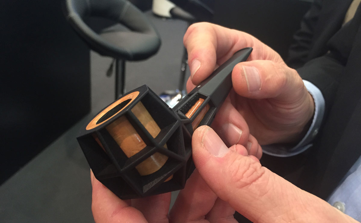 3D Printed Pipe Awarded at InterTabac - 3D Printing Industry