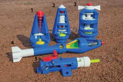 3D Printed Explosives Replicas