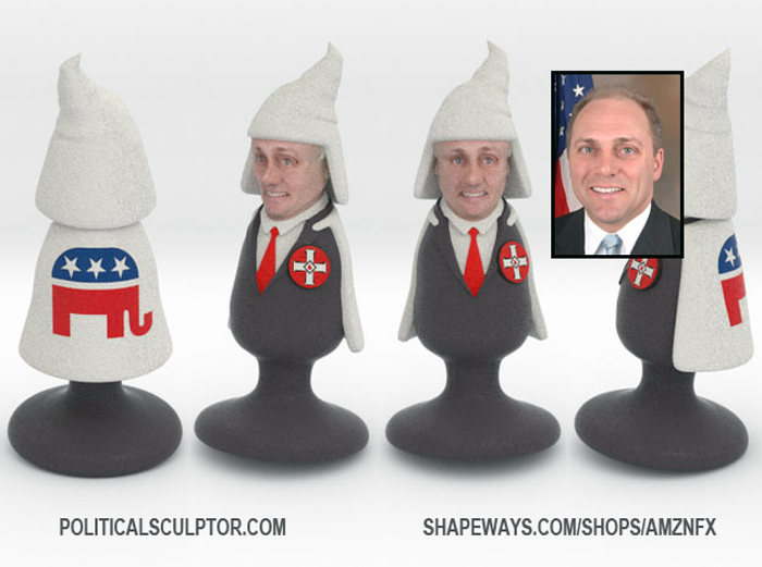 3D printed Steve Scalise butt plug by fernando sosa