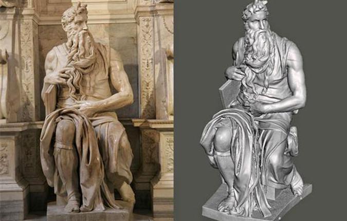 Michelangelo 3d scan