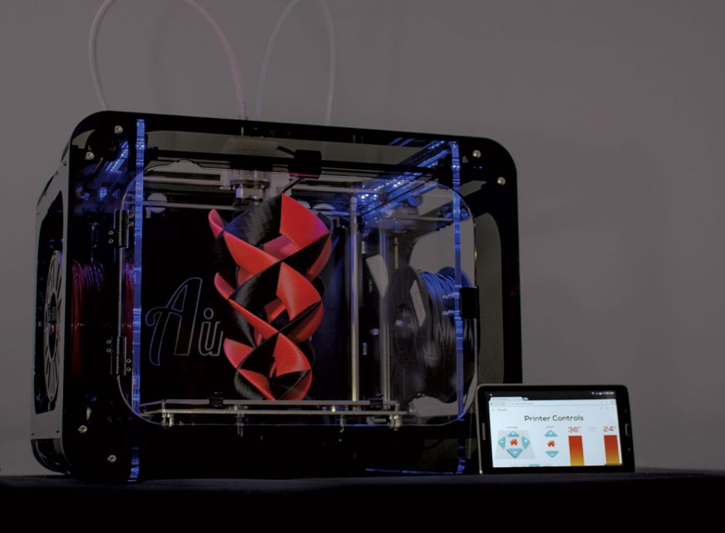Aw3D HD-R 3D printer at CES2015