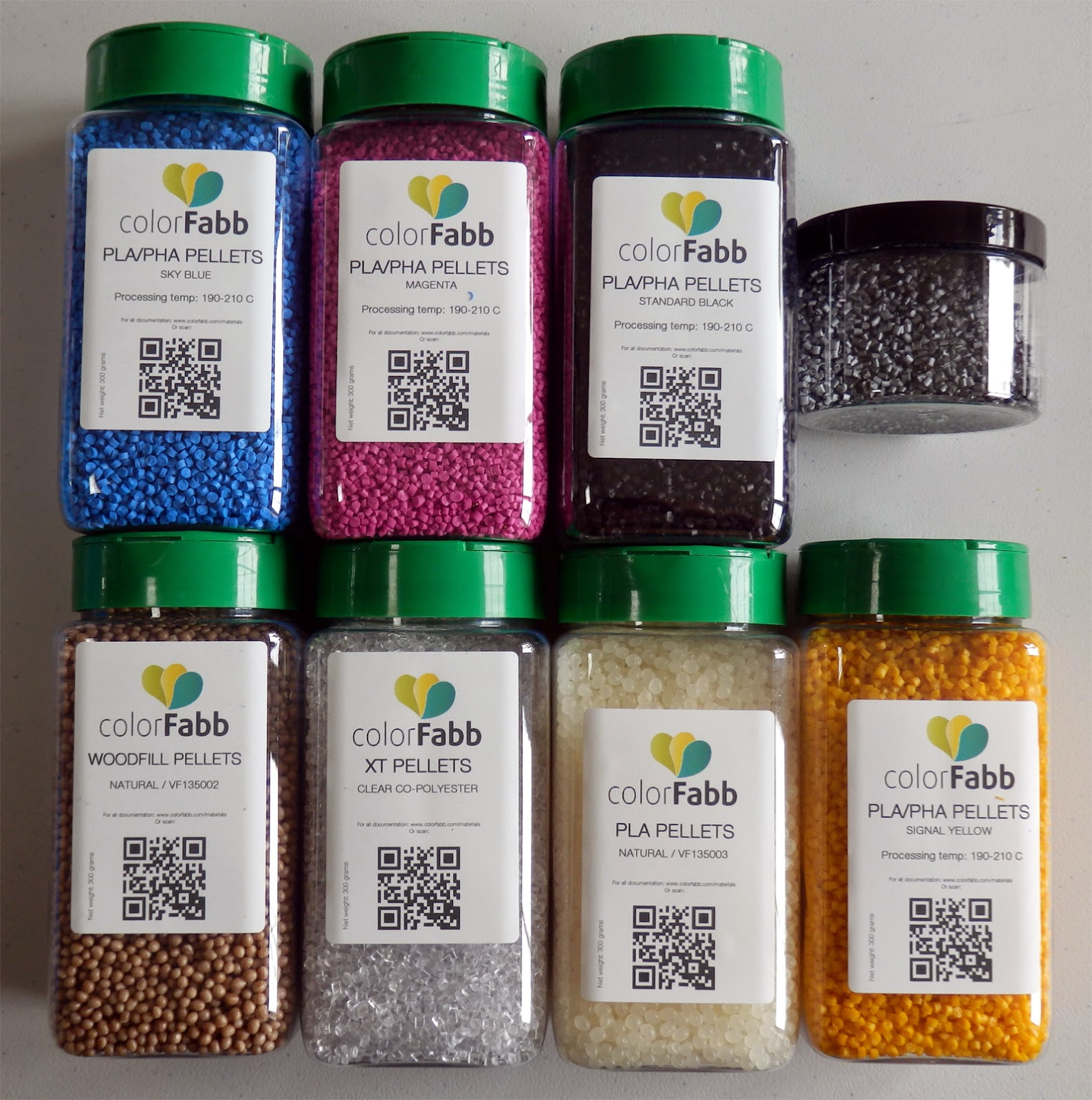 Color Fabb Pellets