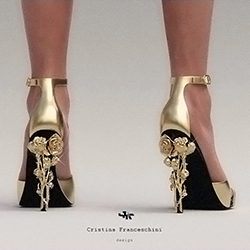 Cristina Franceschini 3d printed shoes