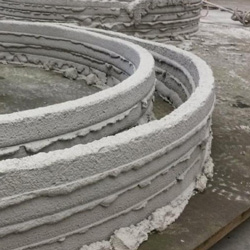 CyBe 3D Printing Concrete Walls