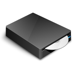 DVD-Drive-icon 3d printing