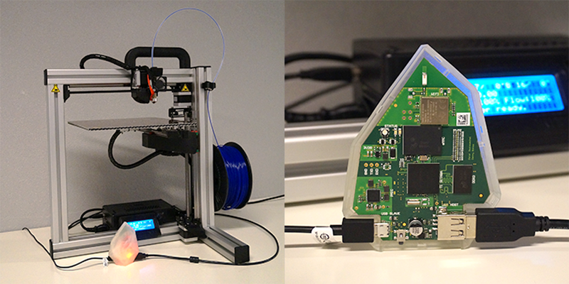 Element from Printr for 3D printing on Kickstarter
