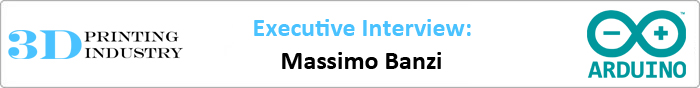 Massimo Banzi arduino executive interview for 3D Printing Industry
