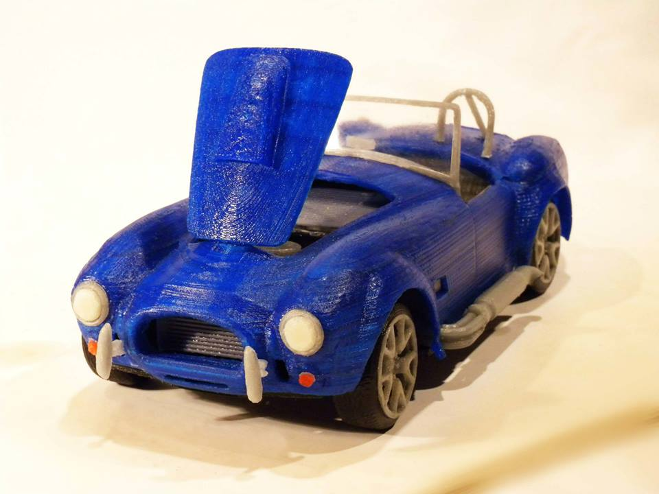 Maurizio Casella's 3D Printed '57 Corvette May Be the Most Beautiful